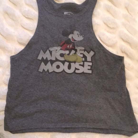 Mickey Mouse Cropped Tank